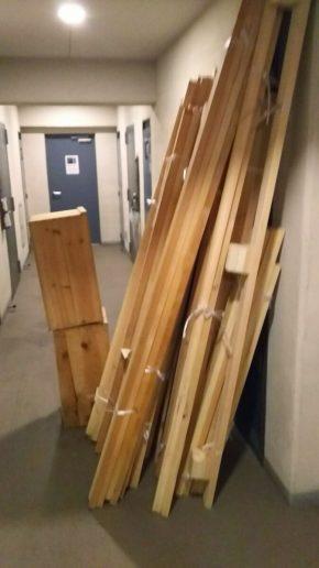 木材、角材の処分