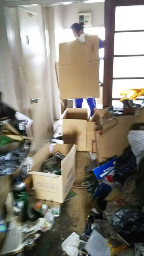 ゴミ屋敷の片付け、ごみ処分