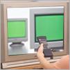 テレビとモニターのイメージ